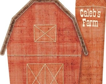 Personalized Barn Wall Sticker Decal for Kids Room