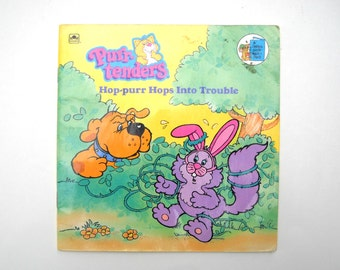 1980s Purr-Tenders Book: Hop-purr Hops Into Trouble