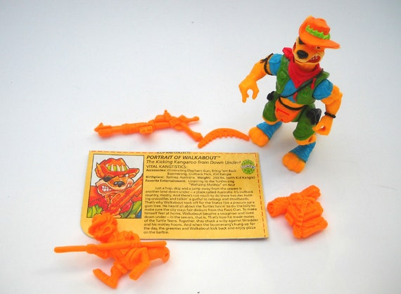TMNT Action Figure: Walkabout Complete