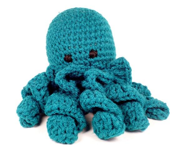 Octopus Amigurumi Plush : Amigurumi Octopus Doll Handmade Crochet Octopus Plush Toy