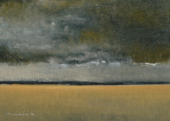Field Storm - Original Oil Painting