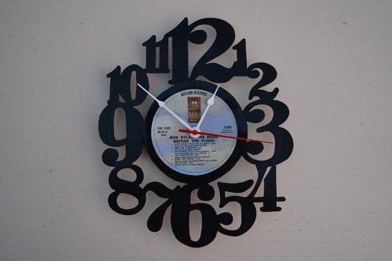 Vinyl Record Album Wall Clock (artist is Bob Dylan)