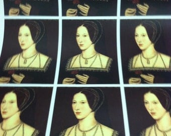 Anne Boleyn Wrapping Paper/Giftwrap
