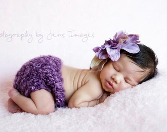 Newborn headband, Newborn photo prop, Flower headband, Newborn photography prop, Newborn headband prop