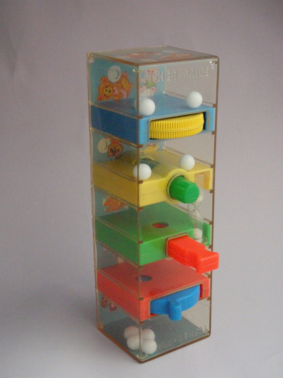 Reserved For Silke Vintage 1970s Fisher Price Tumble Tower