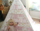 Beautiful large frill play tent for missyb4944