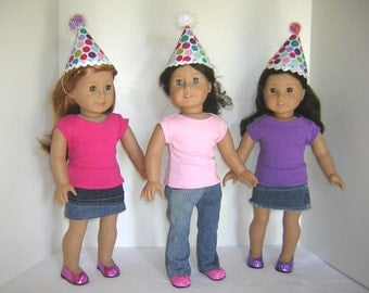 One Party Hat for American Girl Doll