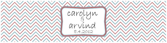 Reserved Listing For Carolyn C - 200 Water Bottle Labels
