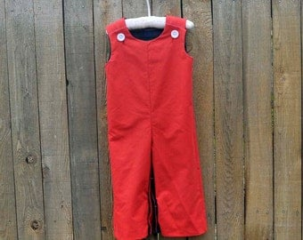 Red Longalls...Great for Weddings,Photos...Eco-friendly...3m,6m,9m,12m,18m,3t,3t,4t