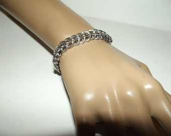 Customized Half Persian Chainmaille Bracelet