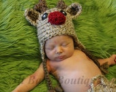 Baby Rudolph Reindeer hat Christmas SALE 25% OFF in July only
