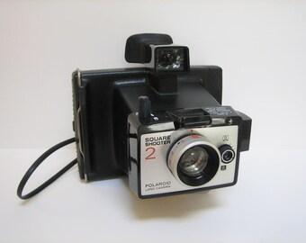 Polaroid Land Camera Square Shooter 2 / Original Box / Nice Display Piece