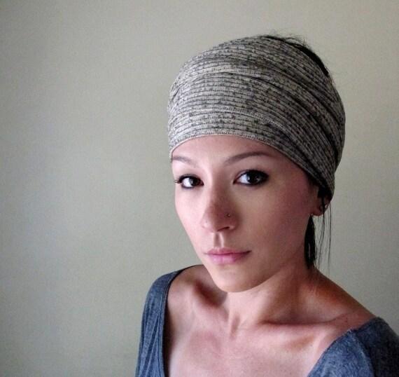 Oatmeal Head Scarf, Hair Wrap, Headband - All in One Womens Neck Bow - Sash - Neutral Oatmeal Scarf - Fall Fashion