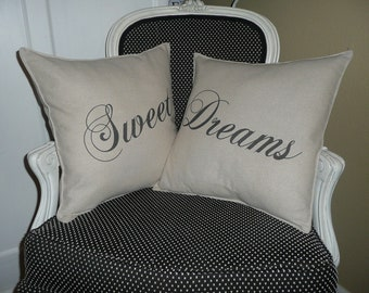 Sweet Dreams PIllow Cover Set