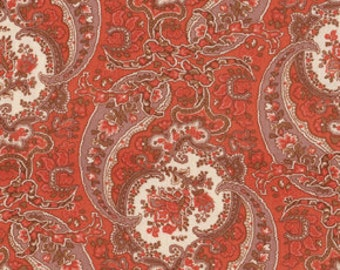 78000 - Free Spirit Verna Mosquera October Skies collection - Paisley in Pale Moon color- 1 yard
