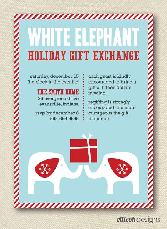 Christmas Ornament Exchange Invitation Wording is nice invitations design