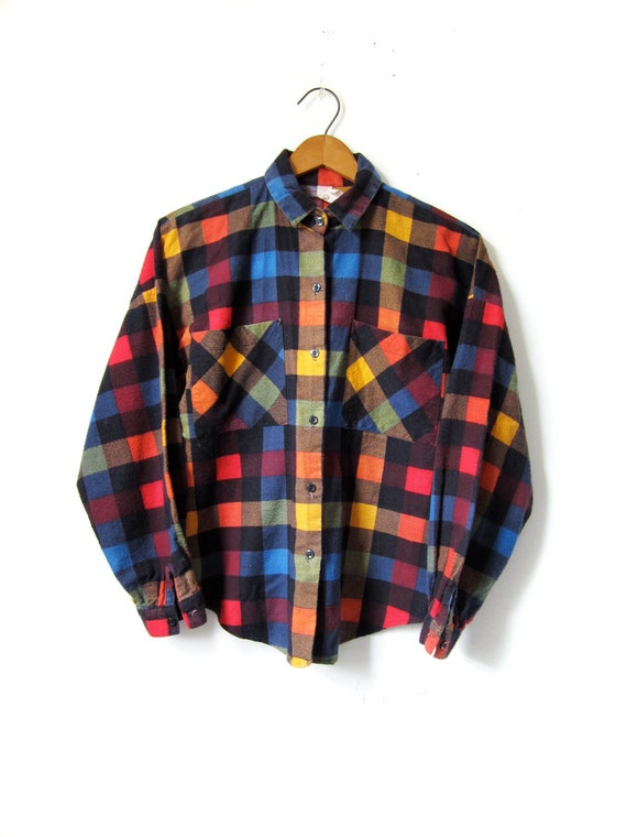 Plaid Shirt Women