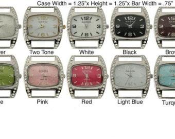 RETRO - Medium Cubic Zirconium watch face