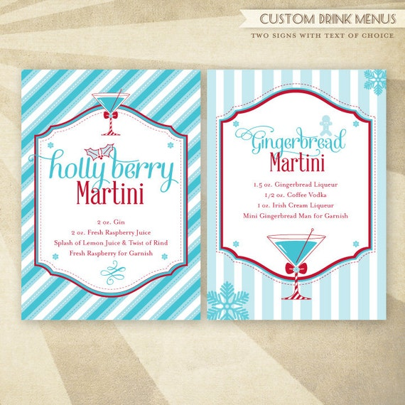 Items Similar To Merry Martini Christmas Party