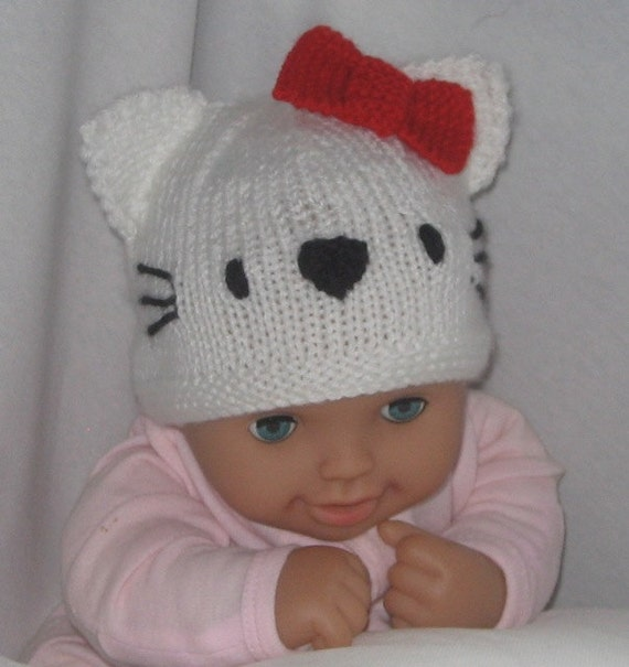Knitting Pattern Cat Beanie : Cat and Dog Beanies KNITTING PATTERN pdf file by automatic