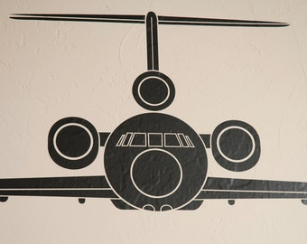 Trijet Airplane - Wall Decal