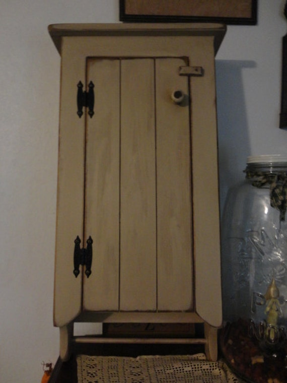 Primitive Wall Cabinet Medicine Cabinet Storage By