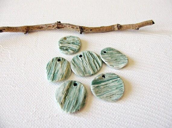 Green Grass Pendants