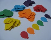 300 Rainbow Balloon Confetti. Wedding Confetti, Decoration, Party Decoration. Any Color Available. CUSTOM ORDERS WELCOME.