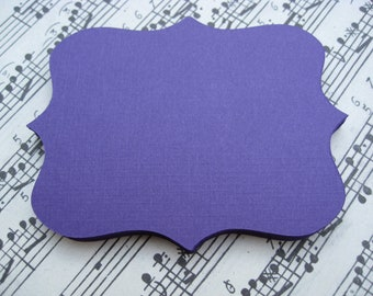 80 Fancy Top Notes. 5 inch. CHOOSE YOUR COLORS. Weddings, Favor, Place Cards, Escort, Table.