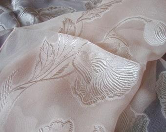 Pink Silk Scarf Vintage