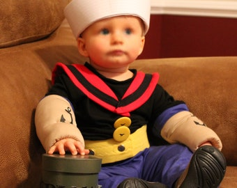 for any age/Popeye costume Made to order only please contact me