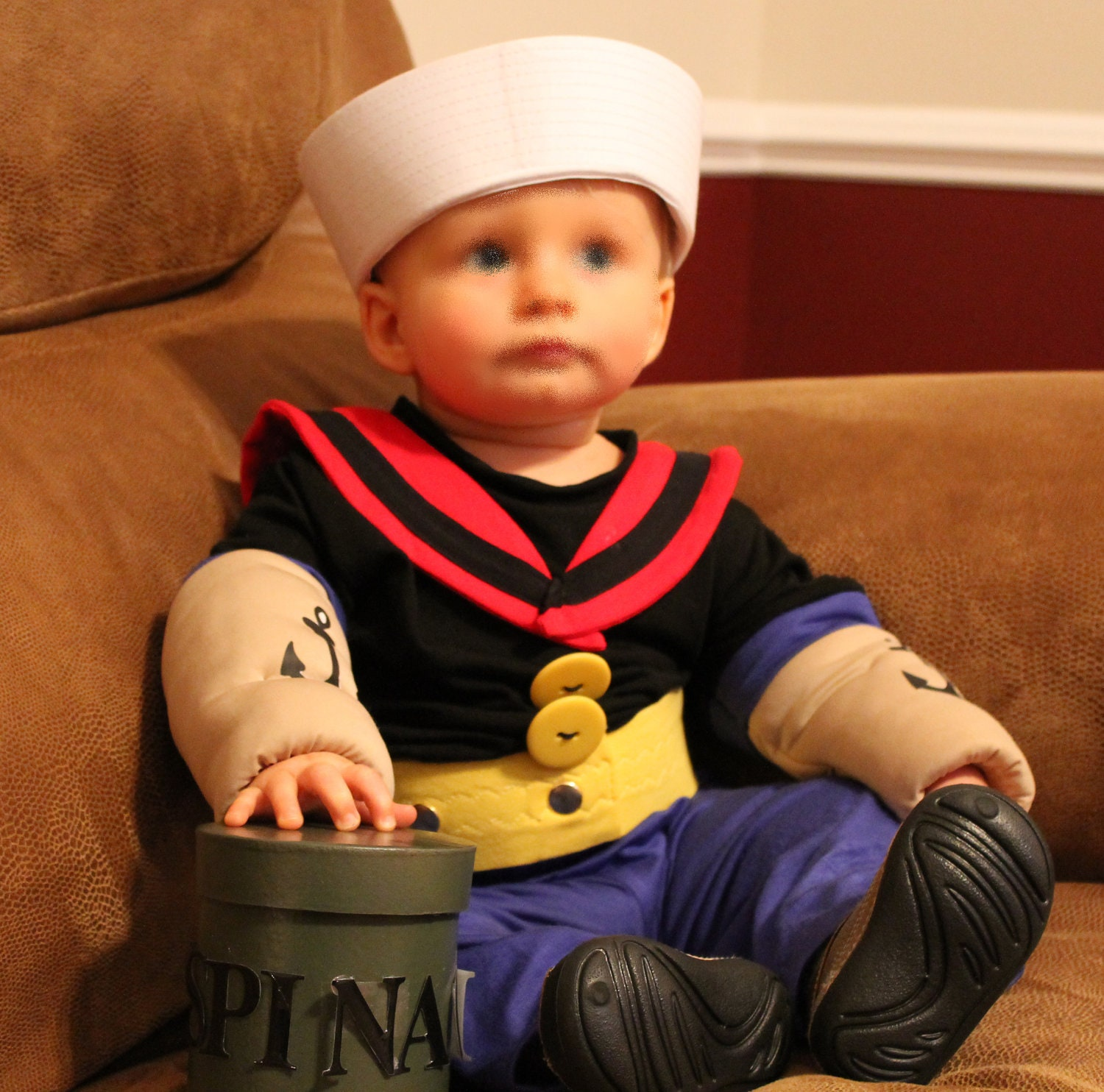 for any age/Popeye costume Made to order only please contact