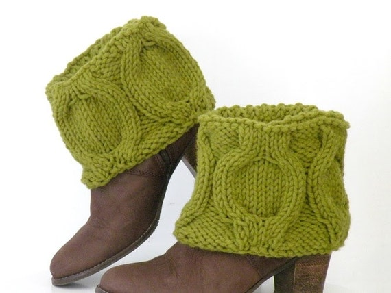 https://www.etsy.com/listing/112584490/hand-knit-winter-green-boot-covers-short