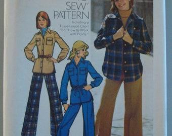 Vintage OOP Simplicity Womens Sewing Pattern 5854 size 9/10 Uncut