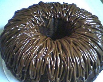 Kahlua Cake (10 inch)- Double Chocolate Kahlua Cake