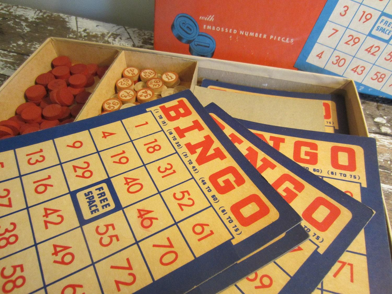 Vintage Bingo Games 54