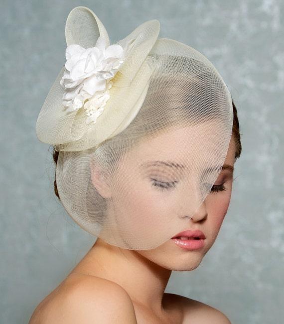 Wedding Hats For Short Hair: Bridal Hair Fascinator Bridal Hat Wedding Hair Accessories