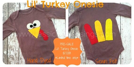 Turkey Onesie Fall Thanksgiving onesie