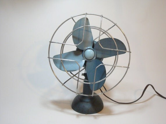 Vintage Desk Table Fan