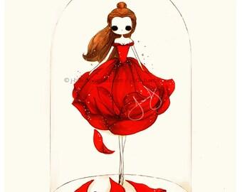 Belle Rose - Print