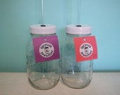 32 oz. Sips of the South Mason Jar Travel Cup