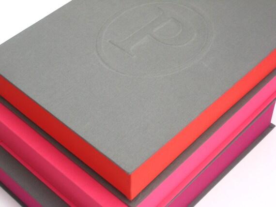 Memory Storage Box - Keepsake Paper Personalized Organizer - Family Heirloom Memento Keeper