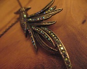 Kujaku - The Peacock - Asian Inspired Necklace/Broach