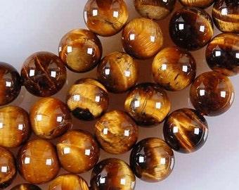 TIGER EYE Gemstone Beads 6mm - COD3169