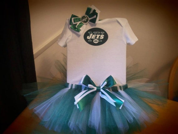 New York Jets inspired tutu outfit