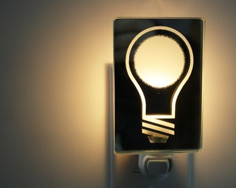 Bulb Night Light/ Veilleuse ampoule