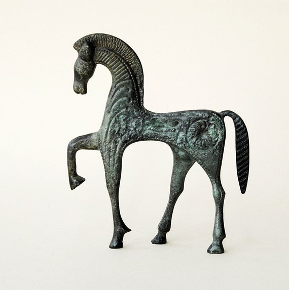 Bronze Horse in Gallop - Ancient Greek
