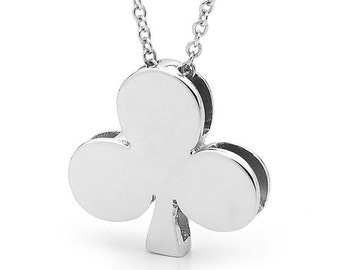 Sterling Silver 'Queen of Clubs' necklace