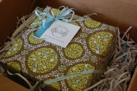 sugarSCOUT: we'd Be happY to GIFT WRAP YoUr Medium Sized goodies