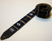 College team handmade double padded guitar strap - This is NOT a licensed product